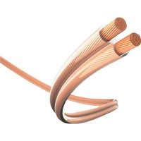 Kabel 2x cinch vidlice ⇒ 2x cinch vidlice, 1,5 m, průhledný, Inakustik