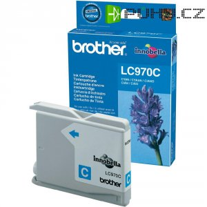Cartridge Brother LC-970, LC970C, cyanová