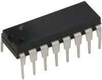 4539 - 2x 4.kanál selektor/multiplexer, DIP16