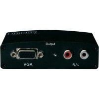 Konvertor HDMI ⇒ VGA/audio , Digitus
