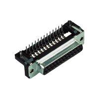 D-SUB kolíková lišta Harting 09 66 462 6811, 37 pin, úhlová