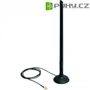 Wlan anténa s magnet. základnou, 6,5 dBi, 2,4 / 5 GHz, Delock
