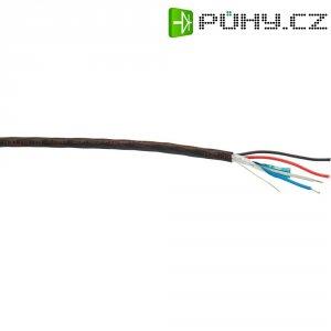 Stíněný audio kabel Belden, 1502R, 2x 0,32 mm² + 2x 0,8 mm², černá (m)