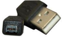 Kabel USB 2.0 konektor USB A / MINI USB 4P 1,8m
