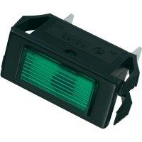 Signálka SCI, 24 V/DC, 23,9 mm, obdélníková, zelená