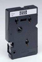 Páska do štítkovače Brother TC-395, 9 mm, TC, 7,7 m, bílá/černá