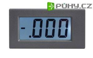 Panelové měřidlo 19,99V WPB5035-DC voltmetr panelový digitální