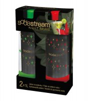 Sodastream láhev 1l Koktejl Red/Green DuoPack