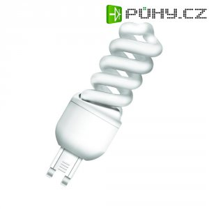 Úsporná žárovka spirálová Osram Superstar Nano Twist G9, 9 W, teplá bílá