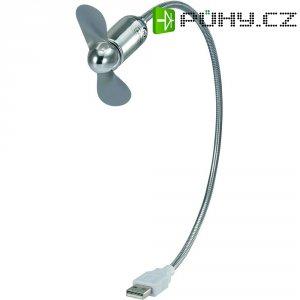 USB ventilátor s husím krkem