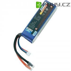 Akupack Li-Pol (modelářství) Conrad energy, 7.4 V, 2200 mAh, 30 C, otevřené kabelové koncovky