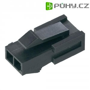 Pouzdro konektoru TE Connectivity 1445048-3, 250 V, 3,0 mm, černá