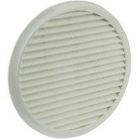 Nástěnný ventilátor se síťkou proti hmyzu Wallair 125, bílý