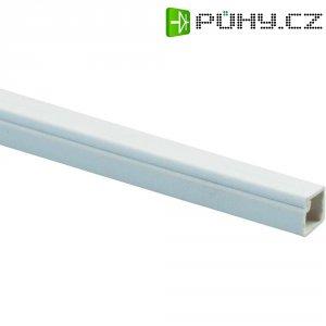 Elektroinstalační mini lišta s krytem Heidemann, 09928, 10x10 mm, 2 m, bílá
