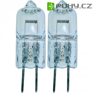 Halogenová žárovka Osram, 12 V , 20 W, G4, Ø 10 mm, stmívatelná, teplá bílá, 2 ks