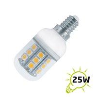 Žárovka do lednice LED 21xSMD 240V/3W E14 bílá přírodní