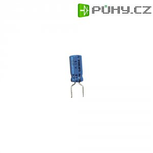 Kondenzátor elektrolytický, 22 µF, 35 V, 20 %, 12 x 5,5 mm