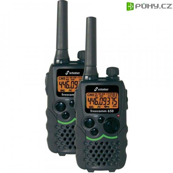 Sada PMR radiostanic Stabo Freecomm 650 - Kliknutím na obrázek zavřete