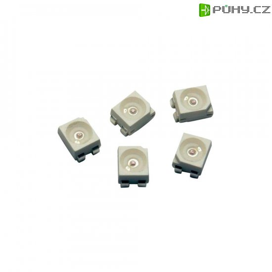 SMD LED PLCC4 Avago Technologies, ASMC-PHB9-TW005, 50 mA, 2,8 V, 120 °, 1120 mcd, červenooranžová - Kliknutím na obrázek zavřete
