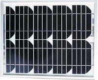 Fotovoltaický solární panel 12V/10W/0,575A monokrystalický