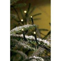 Venkovní vánoční retěz Konstsmide, 40 mikro LED, teple bílá