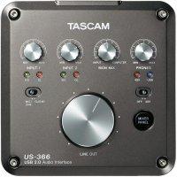 Externí USB zvuková karta Tascam US-366