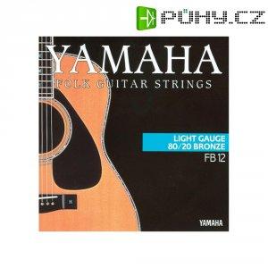 Struny na westernovou kytaru Yamaha Light, 012 - 053