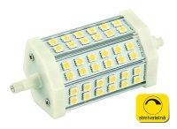 Žárovka LED R7s/230V 8W 118mm 36led bílá teplá stmívatelná