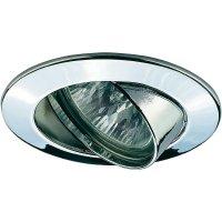 Vestavné osvětlení Paulmann Premium 17956, 50 W, GU5.3, otáčivé, chrom/hliník