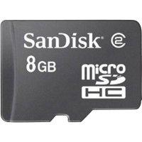 SD karta SanDisk 8 GB, Class 4