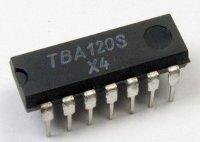 TBA120S /A220D/ mf zesilovač a demodulátor