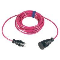Prodlužovací kabel Sirox, 25 m , 16 A, růžová