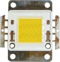 LED 20W bílá teplá 3000K, 1300lm/1500mA,120°, JSL-
