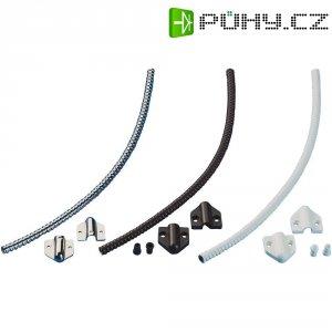 Kabelová průchodka Sitec, Ø 7 mm, délka 30 cm, PVC, bílá