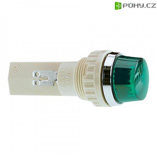 Pouzdro pro signalizační světla RAFI, zelená (transpa.), 18,2 mm, kulaté - Kliknutím na obrázek zavřete