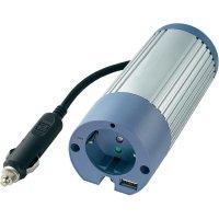 Trapézový měnič napětí DC/AC Voltcraft PI-100-12 USB, 12V/230V, 100 W