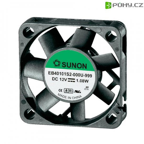 Ventilátor Sunon DR EB40101S2-0000-999, 40 x 40 x 10 mm, 12 V/DC - Kliknutím na obrázek zavřete