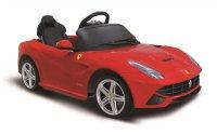 Auto elektrické Ferrari červené