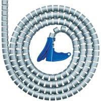 Organizér kabelů, HellermannTyton HWPP-16MM-PP-BK-K1, 2 m