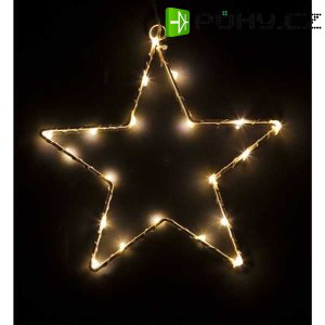 Vánoční osvětlení 20LED STAR WW BAT. RXL 60 RETLUX
