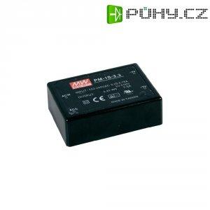 Síťový zdroj do DPS MeanWell PM-10-15, 15 V, 10 W