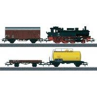 Startovací sada H0 nákladního vlaku a parní lokomotivy řady 74 Trix T21520