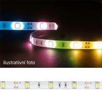 LED pásek 5050 30LED/m IP54 7.2W/m RGB (1ks=10cm) zalitý