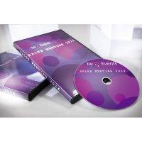 Etikety na DVD Avery, 117 x 117 mm, bílá, 30 ks