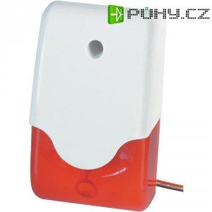 Siréna s blikajícím červeným světlem Abus, SG1681, 100 dB, IP34