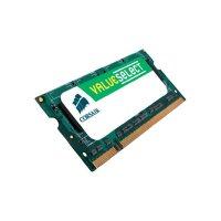 Modul operační paměti notebooku Corsair ValueSelect VS2GSDS667D2, DDR2-RAM, 2 GB, 667 Mhz
