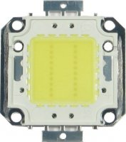 LED 20W Epistar, teplá bílá 3000K, 2200lm/600mA,120°, 30-32V