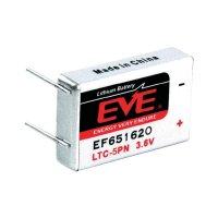 Lithiová baterie Eve, typ LTC-5PN, s pájecími kontakty