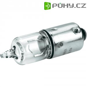Miniaturní halogenová žárovka Barthelme, 01641130, BA9s, 12 V, 10 W