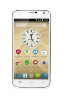 Prestigio MultiPhone 3502 DUO, bílý (PSP3502DUOWHITE)